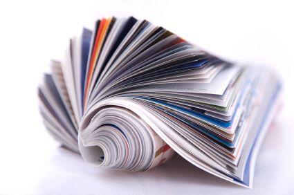Zeitschriftenrolle Werbelektorat und Schlussredaktion