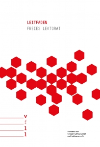 Cover des Leitfaden Freies Lektorat