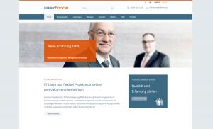 Relaunch der taskforce Management on Demand AG